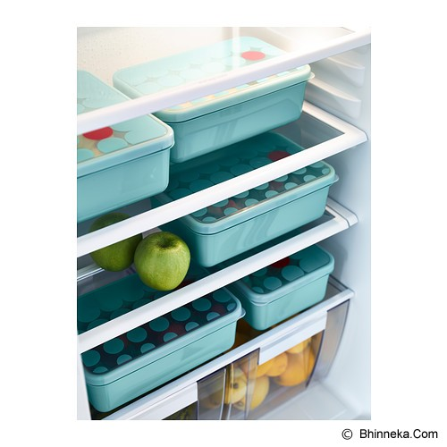 IKEA PRODUCTS KULLAR Lunch box  [402.337.00] - Light blue (V) - Lunch Box / Kotak Makan / Rantang